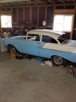 57 chev project