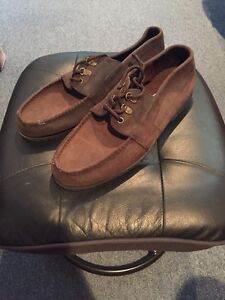 Brand New Brown Boat Shoes