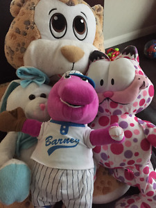 Barney & Misc Stuffies