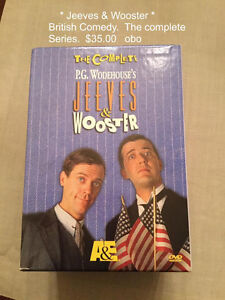 DVD Jeeves & Wooster British Comedy complete set