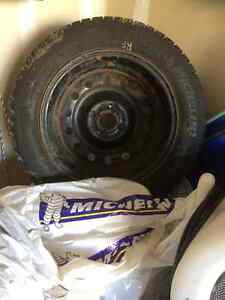 Snow Tires with Rims London Ontario image 1