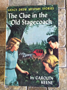 12 Nancy Drew hardcover books from the 1960's