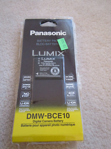 Battery for Panasonic Lumix DMC-FX33, model DMW-BCE10PP