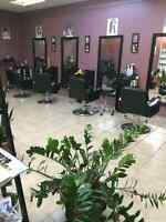 Chair rent for hairstylist and hair braider