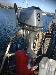 8HP Honda 4 Stroke & 3.3 Mariner Short Leg Outboards Noosaville Noosa Area Preview