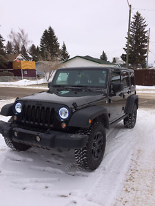 2014 Jeep Wrangler Willys Edition