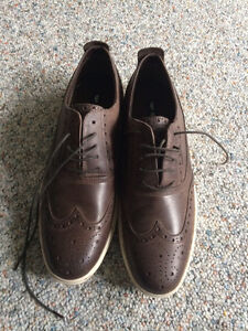 Leather shoes men's 10.5 (new)