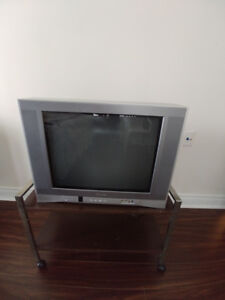 "Toshiba 24"" flat screen CRT television"