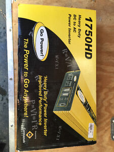 1750 watts heavy duty power inverter.