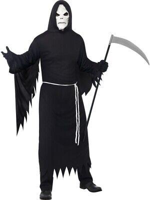 Sensenmann Tod Kostüm Halloween Herren - Herr Tod Halloween Kostüm