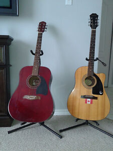 Guitars - 2 Accoustic -  Both in Great Condition