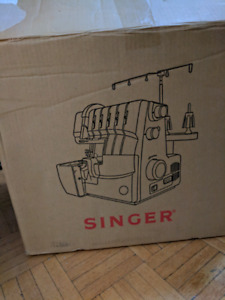 BRAND NEW SINGER 5 THREAD SERGER OVERLOCK SEWING MACHINE