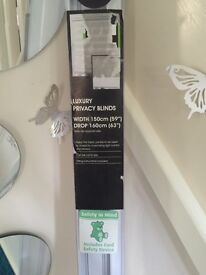 Luxury privacy blind new