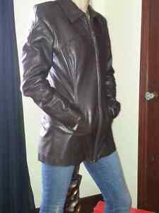Daniel Leather Jacket Cambridge Kitchener Area image 1