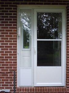 Aluminum Side lite to match storm door