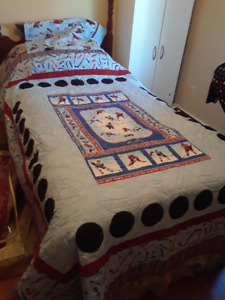 Single Final Whistle Quilt
