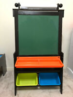 KidKraft Wooden Double Sided Grand Storage Easel