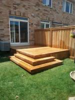 decks fences sheds for less $$