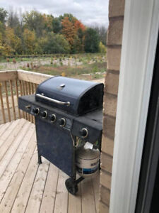 Propane BBQ - Backyard Grill One Year old - barbecue