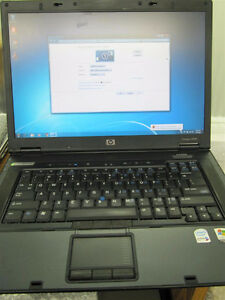 "HP Compaq 15.4"" HD screen business laptop with Bluetooth"