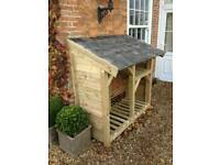 Log stores made to order