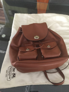Coach Knapsack Purse (authentic)
