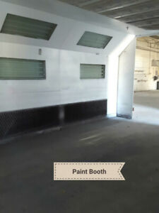 5500 square foot Industrial Unit for Lease with Auto Body Zoning
