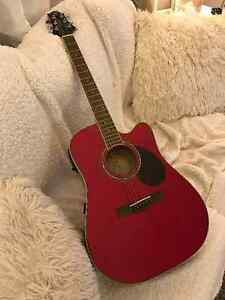 Greg Bennett acoustic/electric guitar - new