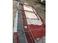 925-950 cm DOREMA awning ground sheet and storm straps