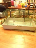 Large cage suitable for guinea pig or small bunny