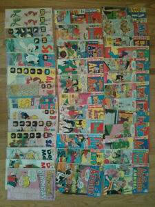 Old comic books, approx 40, in v good condition