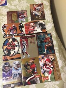10 Different Jerry Rice Football Cards St. John's Newfoundland image 1