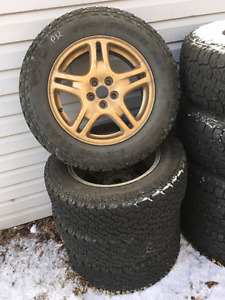 Grabber AT2 MS on Subaru Rims - set of (4)
