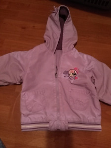 Minnie mouse spring coat