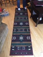Large rug and two runners