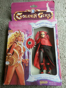 Dragon Queen: Vintage Golden Girl  Action Figure