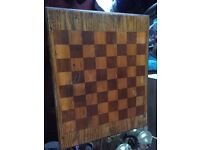 Old chess table