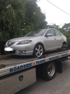 Mazda 3 2004 SELLING FOR PARTS/AS IS