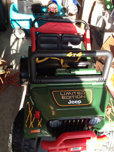 Power Wheels Large Size Jeep