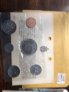 4 uncirculated coins sets
