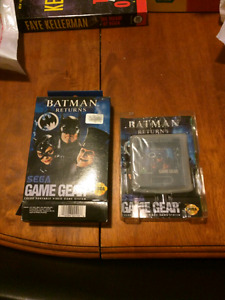 Complete in box game gear games