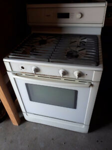 Bosch Gas Stove White. Works Perfect. Very Clean.