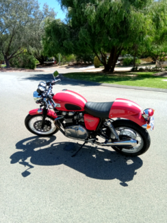 Triumph thruxton cafe racer Silver Sands Mandurah Area Preview