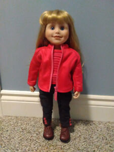 "Maplelea Doll - Brianne 18"" + clothes"