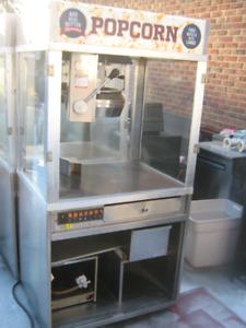 4 Commercial Cretors POPCORN Machines