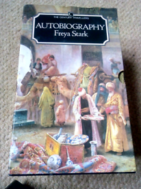 Freya Stark. Autobiography. Special Edition Box set. 1985 4 Books.