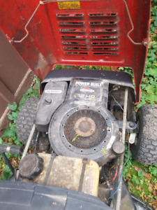 Mower and snow blower