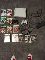 Xbox 360 mint/ with games