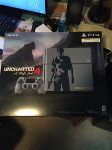 Playstaion 4  Uncharted  500GB