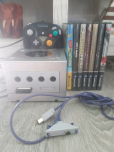 Platinum Gamecube and Games